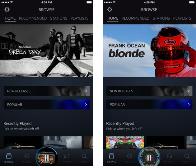 Amazon sfida Apple e amplia servizio di musica in streaming