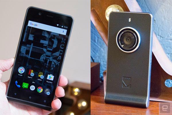 Kodak lancia uno smartphone con look da fotocamera vintage