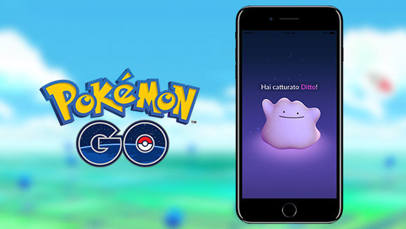 Ditto in Pokemon GO