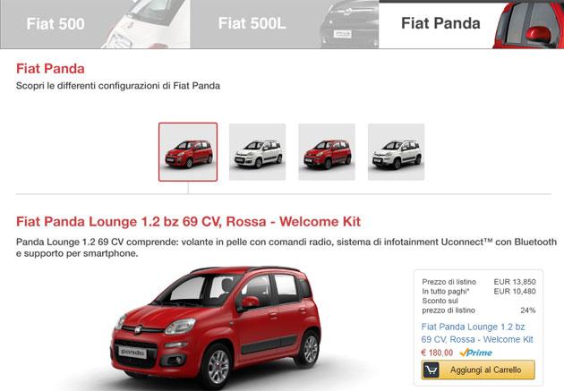Fca si allea con Amazon, ora le auto si comprano online