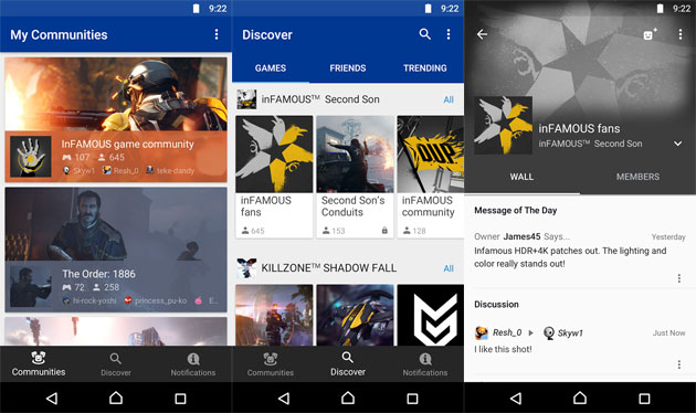 PlayStation Community, app Android ed iOS di Sony per i giocatore PS4
