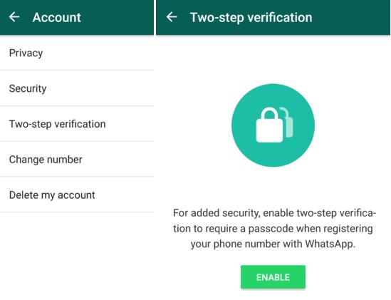 Whatsapp: arrivano le beta con Status ed autenticazione a 2 fattori