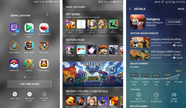 Samsung Game Launcher 2.0
