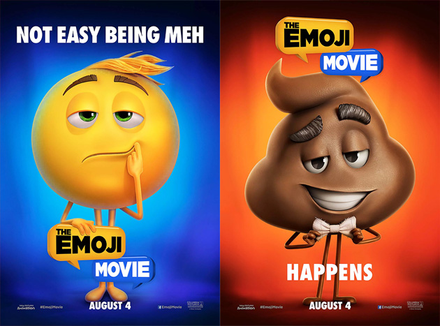 The Emoji Movie teaser poster