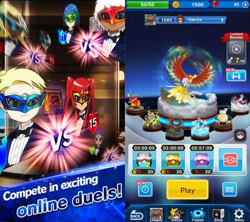 Pokemon Duel su iOS