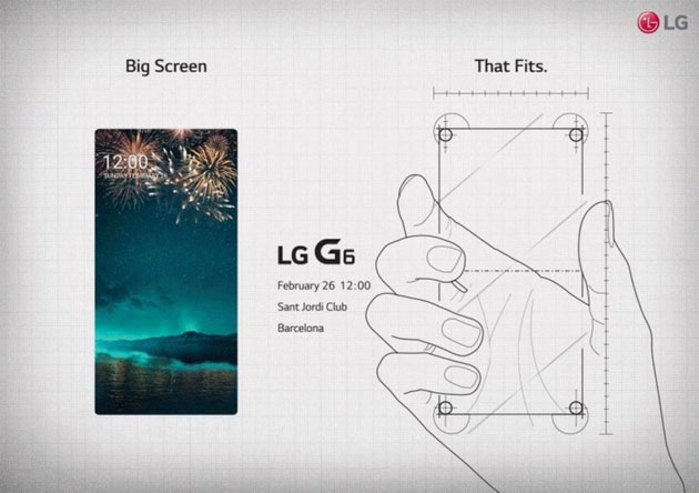 LG G6 - save the date