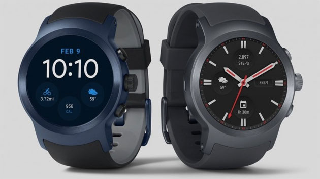 LG Watch Style e Watch Sport