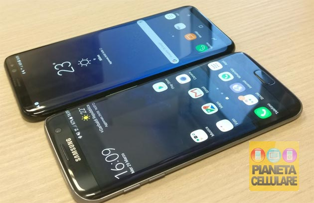 Samsung Galaxy S8 vs S7 edge