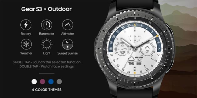 Gear S3 - Watchface Samsung Outdoor