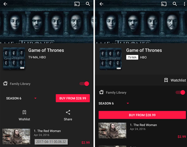 Google Play Movies e TV 3.24.5 - novita'