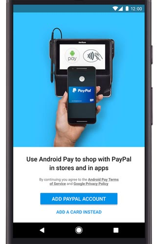 Paypal e Android Pay