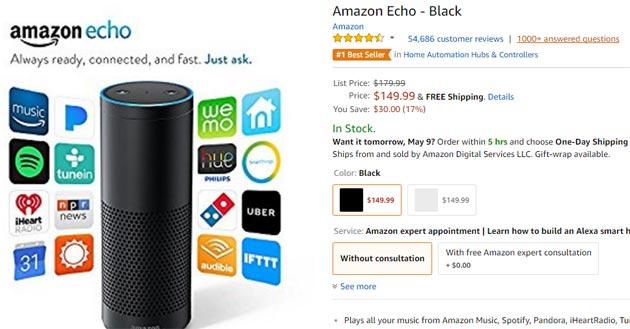 Echo Show, il nuovo assistente personale domestico di Amazon