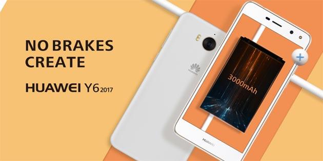 Huawei Y6 2017 ufficiale, poche novità ma il prezzo sale…