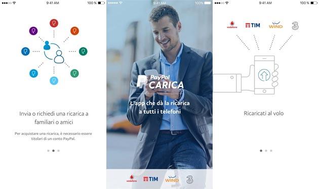 Arriva PayPal Carica per ricaricare il cellulare da Android e iOS