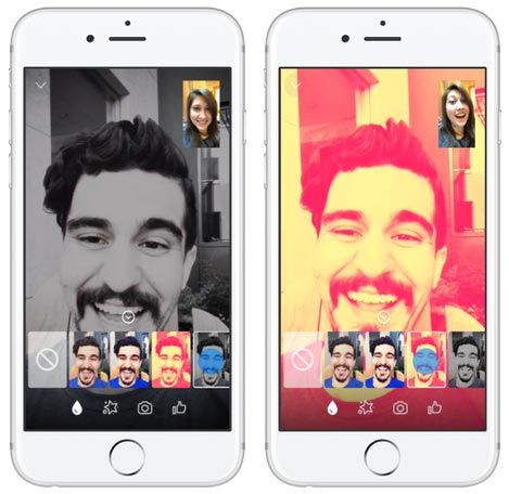 Messenger Video Chat - Filtri
