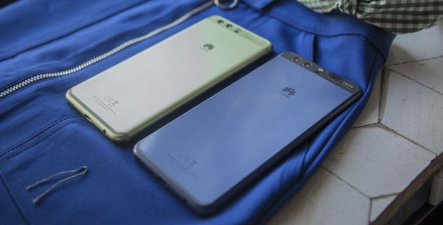 P10 e P10 Plus nei colori Greenery e Dazzling Blue