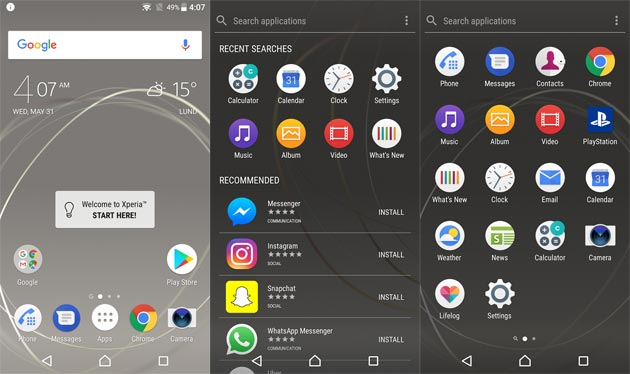 Xperia Home Beta