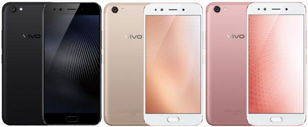 Vivo X9s - press renders