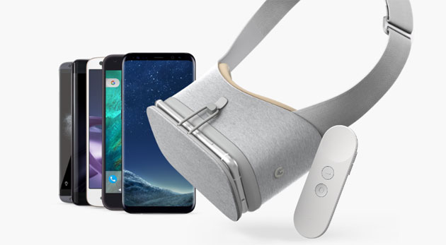 Galaxy S8 e S8 Plus supportano Google Daydream VR
