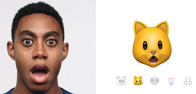 Fotocamera TrueDepth di iPhone X - Animoji