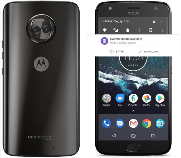 Moto X4 in versione Android One e Project Fi