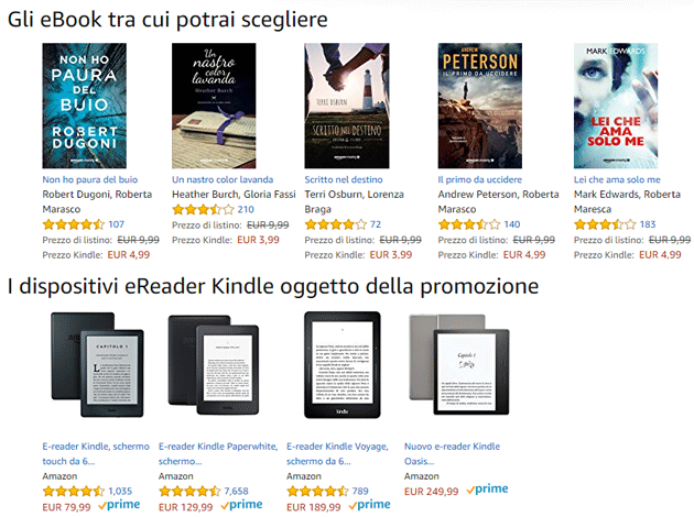 Amazon - eBook gratis 24 ottobre-15 novembre 2017