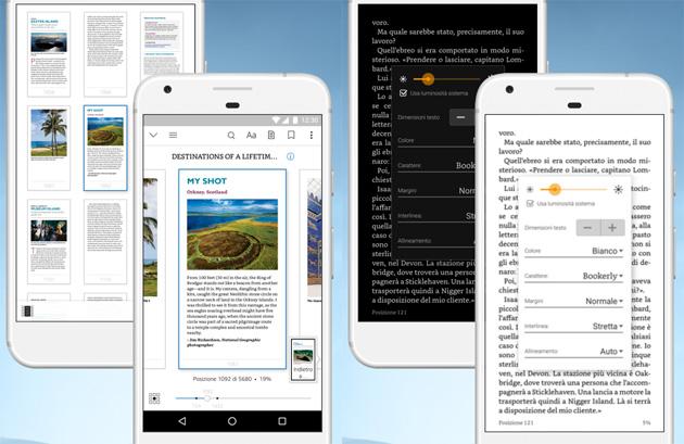 Nuova app Kindle: ebook su smartphone e tablet