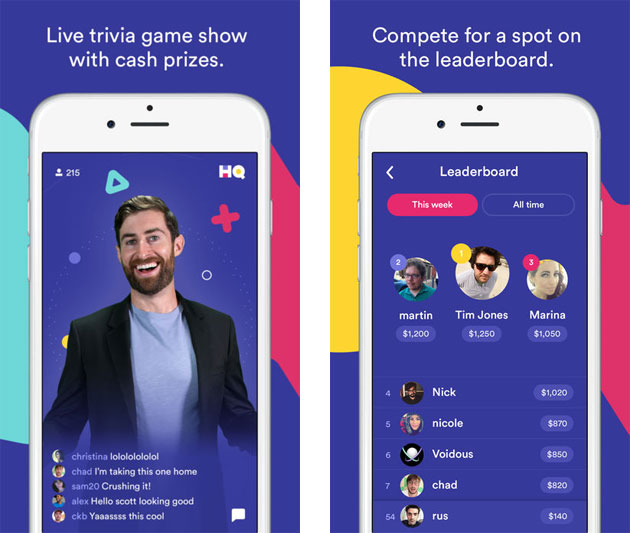 HQ - Live Trivia Game Show