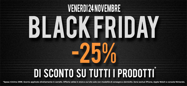 Black Friday 2017 da Unieuro