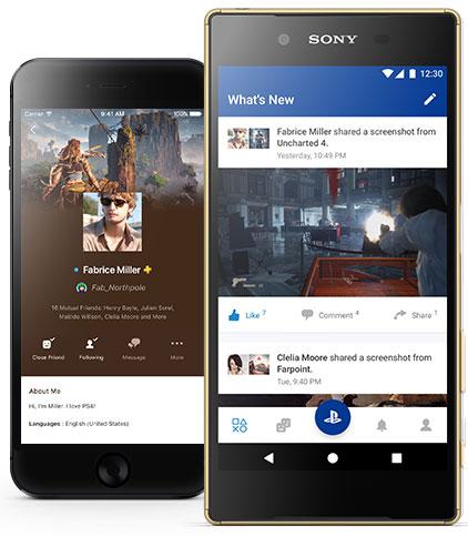 PlayStation App si aggiorna e introduce lo schermo condiviso su mobile