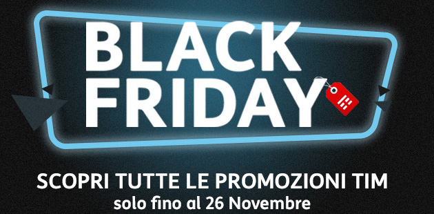 TIM per Black Friday 2017