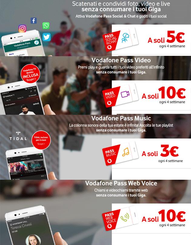 Vodafone chat and flirt
