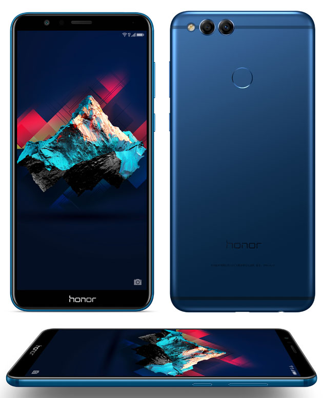 Honor 7X - blue