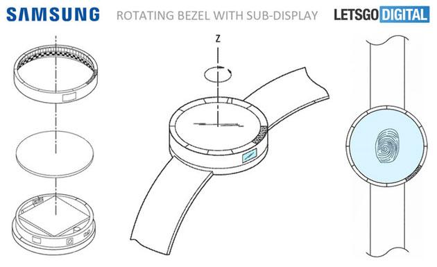 Samsung Gear S4 potrebbe avere la batteria nel cinturino e due display