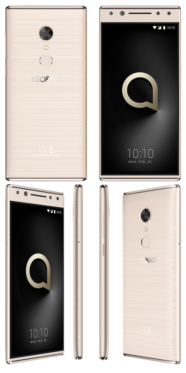Alcatel 5 Metallic Gold
