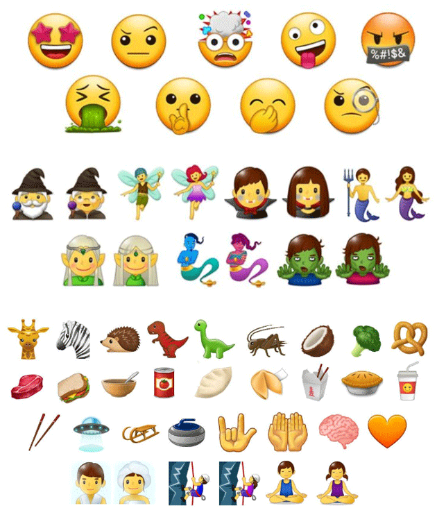 Samsung Experience 9.0 - le nuove emoji