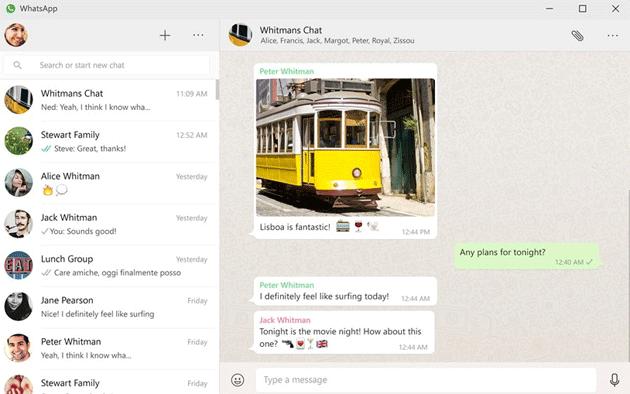 WhatsApp Desktop approda sullo store Microsoft