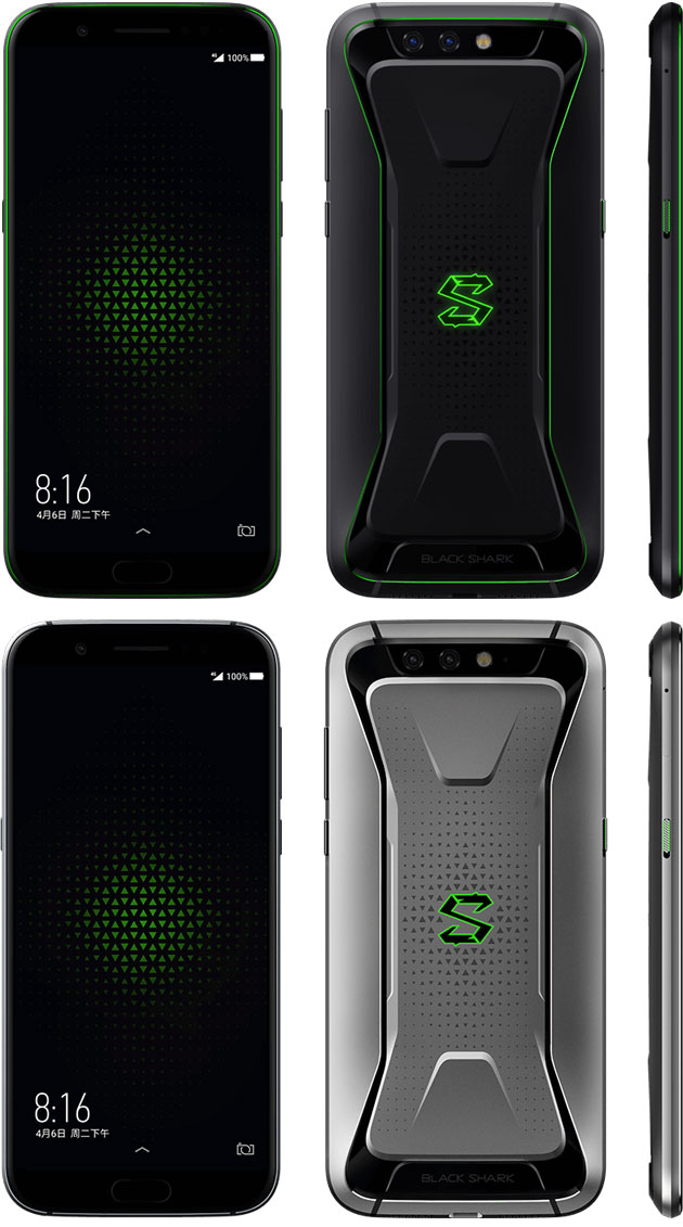 Xiaomi Black Shark in Polar Night Black e Sky Grey