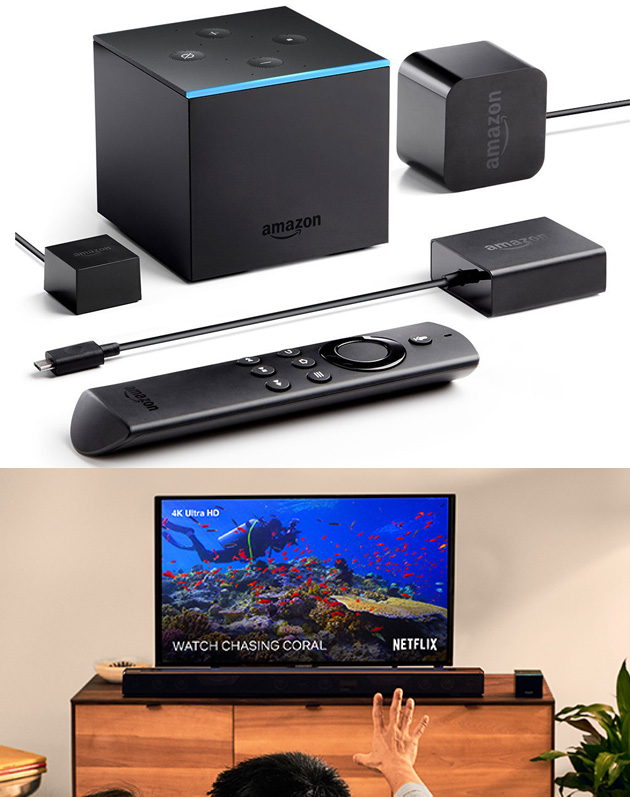 Amazon anticipa il Fire TV Cube