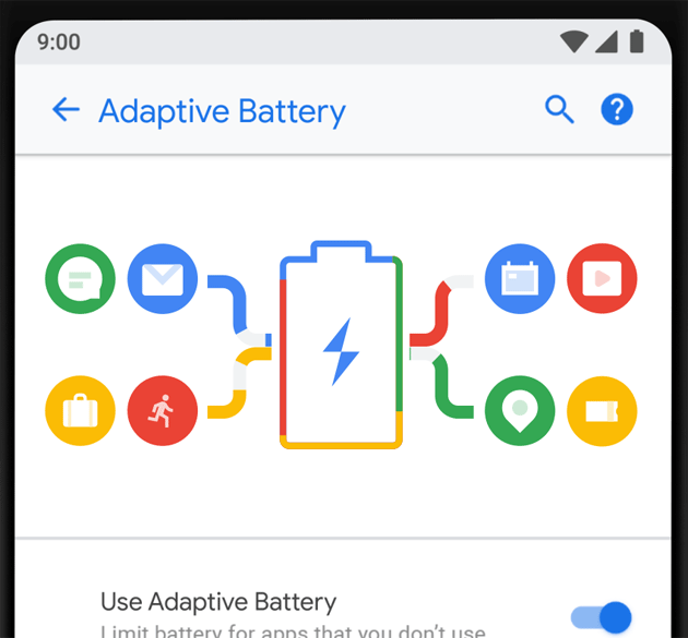 Android P - Adaptive Battery