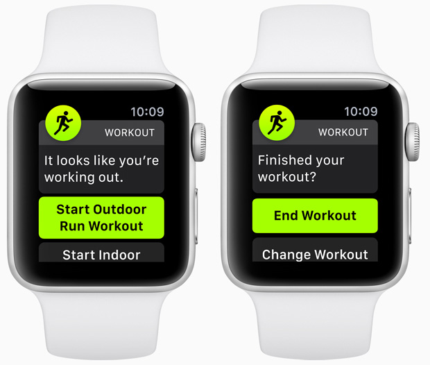 Apple Watch OS 5 - Auto-Workout Detection