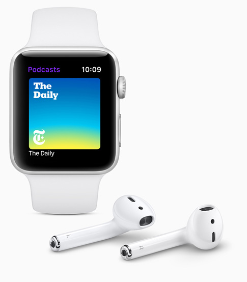 Apple watchOS 5 - Apple Podcast