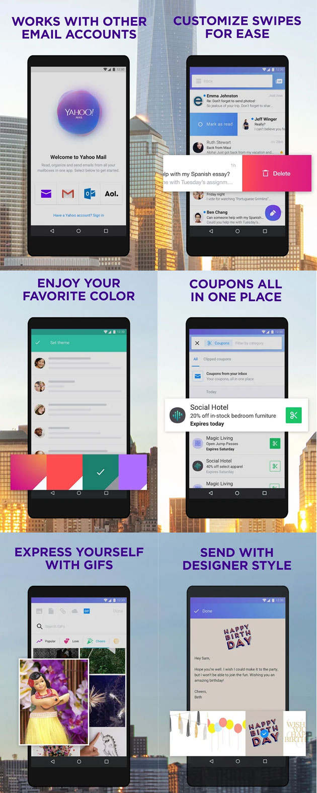 Yahoo Mail Go - app Android