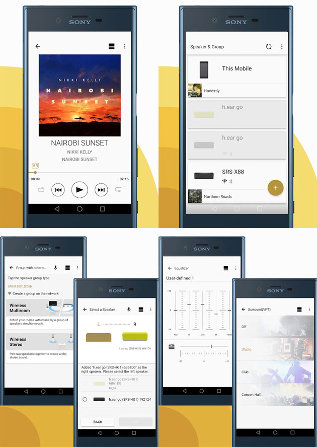 App Sony Music Center
