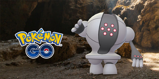 Pokemon leggendario Registeel