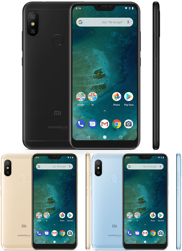 Xiaomi Mi A2 E Mi A2 Lite In Italia Con Dual Camera E Ia Specifiche Foto Video E Prezzi