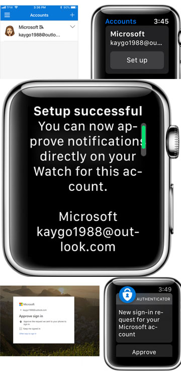 Come usare Microsoft Authenticator su Apple Watch
