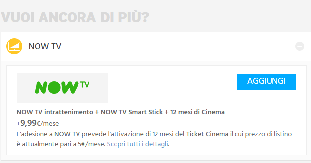 Fastweb e Now TV, la Internet TV di Sky