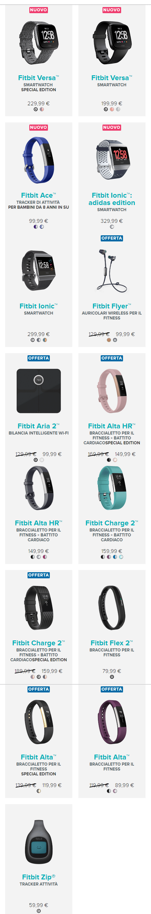 Fitbit per il Back To School 2018