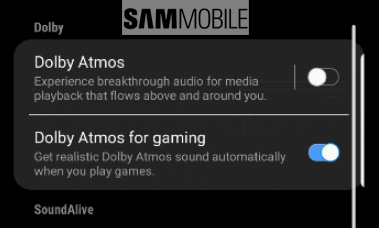 Come attivare Dolby Atmos for gaming su Samsung Galaxy Note9